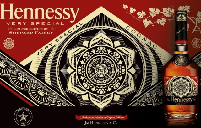 Hennessy  Very Special Limited Edition by Shepard Fairey